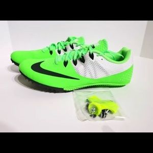 Nike Zoom Rival S8 Men's Track Shoe Neon Green 12